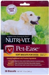 Nutri-Vet Pet-Ease Soft Biscuits for Dogs