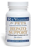 Rx Vitamins Hepato Support For Dogs & Cats, 90 Capsules