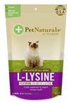 Pet Naturals L-Lysine For Cats, 60 Chews