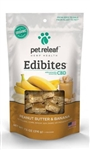 Pet Releaf Edibites, Peanut Butter & Banana, 7.5 oz