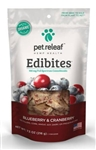 Pet Releaf Edibites, Blueberry & Cranberry, 7.5 oz