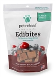 Pet Releaf Edibites  1800 mg, Blueberry & Cranberry, 7.5 oz