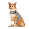 ThunderShirt Sport Dog Anxiety Jacket, Platinum, Large