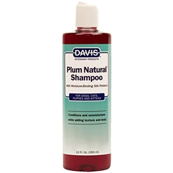Davis Plum Natural Shampoo, 12 oz
