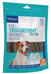 C.E.T. VeggieDent FR3SH Tartar Control Chews For Small Dogs 11-22 lbs, 30 Chews