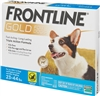 Frontline Gold For Dogs 23-44 lbs, Blue 3 Tubes