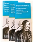 Informational brochure on hair pulling for cosmetologists