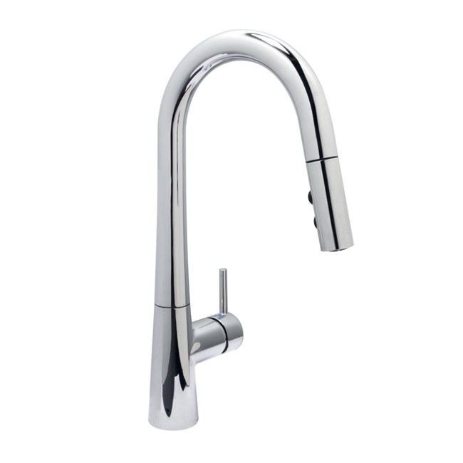 Tall Stationary Handle Kitchen Faucet