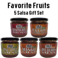 Favorite Fruity Salsa 5 Pack