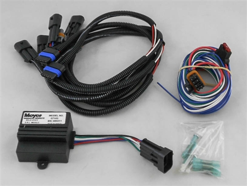 is a new oem meyer headlight adapter drl module kit for a this is a new oem meyer headlight adapter drl module kit 07108 for a 1999