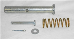 "This is a new OEM Fisher Connecting Pin Kit 27168K. The Kit includes the 3/4"" ID x 3 1/2"" Compression Spring, 1"" OD x 6 15/16"" Pin, 3/8"" Flat Washer, 5/32"" x 1 1/4"" Cotter Pin and the Clevis Pin."