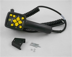 This is a new OEM Fisher Multi-Plex Fish-Stik Control Kit 29800. This has a 4-Pin Square Connector and cannot be interchanged with other controls. This can be used with a Straight Plow Blade or V-Plow Blade.