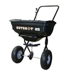 The Meyer Hotshot 85 Walk-Behind Salt Spreader part #38115 is perfect for salt control in the winter and ground maintenance during the spring, summer and fall. This spreader is built to handle extreme conditions for year-round use.