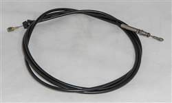 This is a new OEM Fisher Joystick Cable Assembly 56130. The Cable is adjustable side-to-side and measures 108' in length.