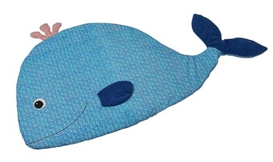 Wally the Whale Nap Mat