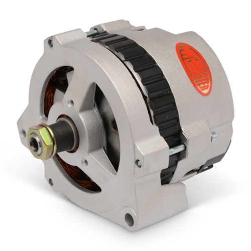 Powermaster Alternator 170amp, Eddie Motorsports S-Drive Replacement, Natural Cast Finish