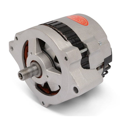 Powermaster Alternator 170amp, Eddie Motorsports V Drive Replacement, Natural Cast Finish