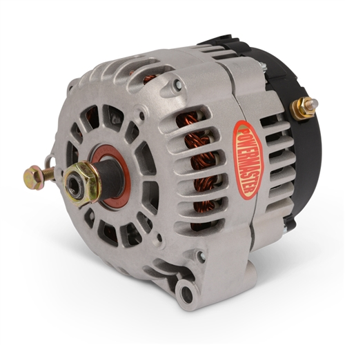 Powermaster Alternator 170amp with Internal Fan, Natural Cast Finish