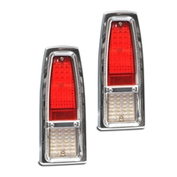 Taillight Kit W/ Bezel & LED's 1966-67 Nova Billet