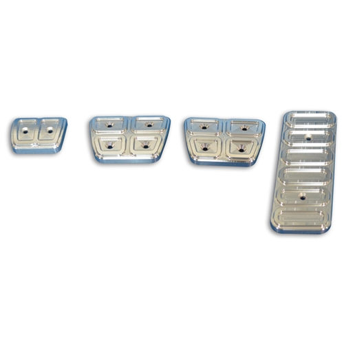Pedal Cover Set 67-92 Camaro 4 PC.