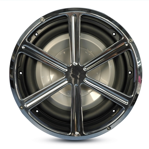 "Subwoofer Grill 8"" Wheel Style"