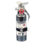 Fire Extinguisher Chrome Clean Agent Small 1Lb