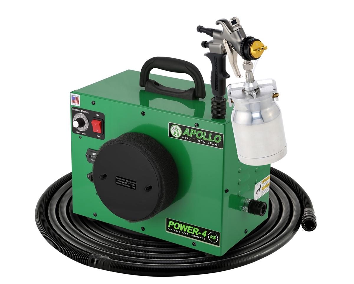 Apollo Power 4 Hvlp Paint Sprayer 7500qt