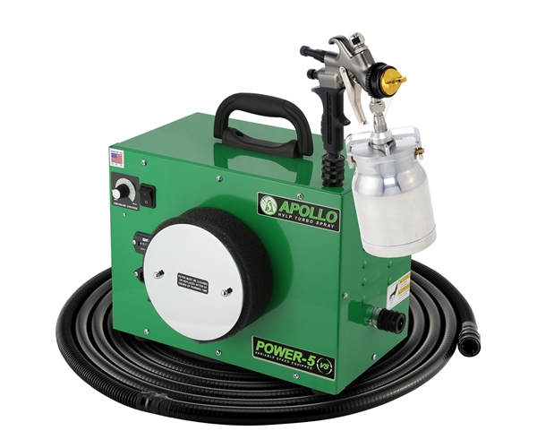 Apollo Power-5 Turbo HVLP Paint Sprayer - 7700QT