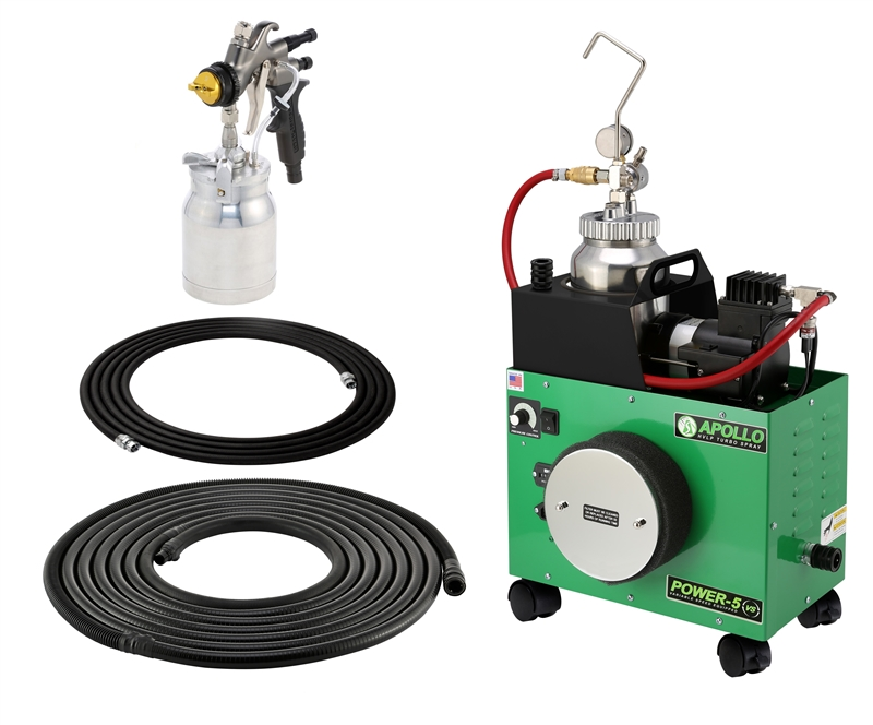 Apollo Power 5 VS HVLP w/ 4500 Mobile Fluid Feed System