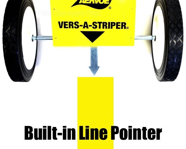 Aervoe Aerosol Parking Lot Line Striper