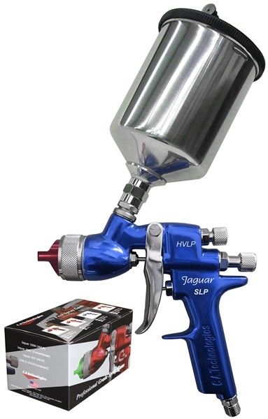 CA Technologies Jaguar SLP HVLP Fine Finish Gravity Spray Gun EP-JSLP-W