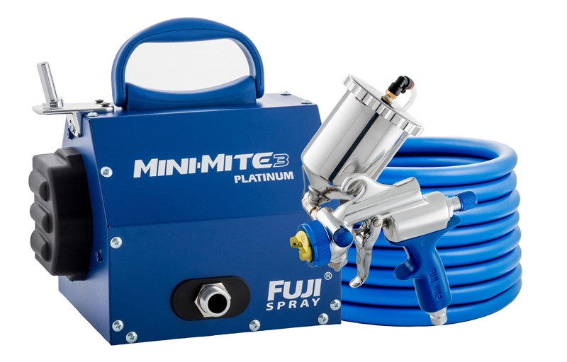 Fuji Spray Mini-Mite 3 Platinum G-XPC Hvlp Paint Sprayer System