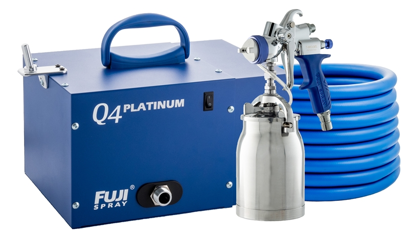 Fuji Q4 Platinum T70 HVLP Paint Sprayer Spray System