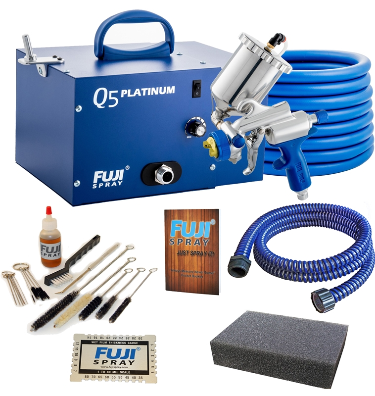 Fuji Spray Q5 Platinum G-XPC HVLP Turbine Sprayer