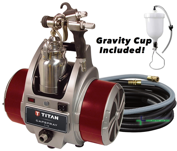 Titan Capspray 115 HVLP Turbine Paint Sprayer
