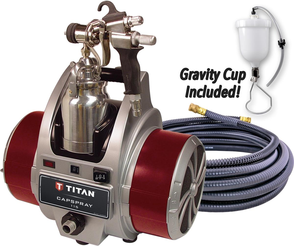 Titan Capspray 115 HVLP Turbine Paint Sprayer