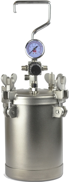 1 Gallon Stainless Steel Pressure Pot Dispensing Tank