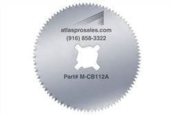 "Stainless 2.5"" Cast Cutter Saw Blades"