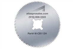 "Special Hardened Steel 2.5"" Cast Saw Blade"