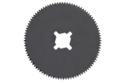 "2.5"" Teflon Cast Cutter Saw Blade"