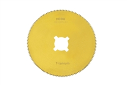 "HEBU Medical Titanium Nitride 2"" Cast Saw Blade"