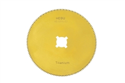 "HEBU Medical Titanium Nitride 2.5"" Cast Saw Blade"