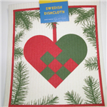 Cose Nuove Swedish Dish Cloth Woven Heart
