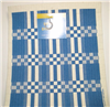 Cose Nuove Swedish Dish Cloth Blue Folk Weave