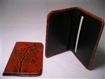 Leaf Leather Business Card Case