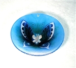 Butterfly Bowl (large, blue) by Mats Jonasson Maleras