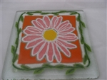 Flower Power Coasters by Peggy Karr Glass