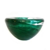 Atoll Votive Green by Kosta Boda