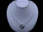 Skagen Freshwater Pearl Heart Necklace JNW0017