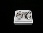 Somers Mobius Circle Cuff Links